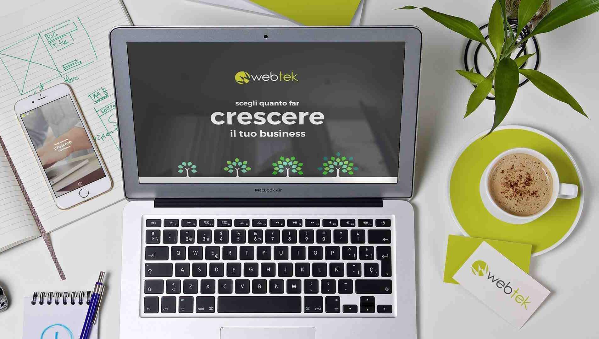 Website development by Webtek